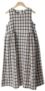 Le Selmi check dress