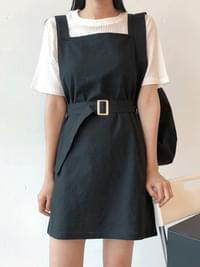 Ending suspenders dress