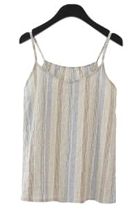 crease stripe sleeveless (2colors)