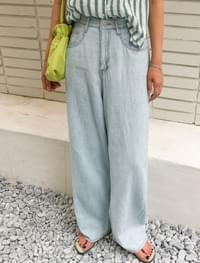 High West Wide Blue Trousers