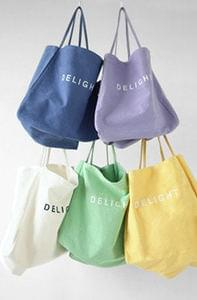 Delight Big Canvas Bag