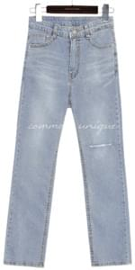 LOYDIN STRAIGHT DENIM PANTS
