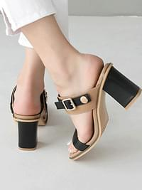 Rodin two-way sandals 7cm