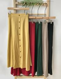Cover Button Skirt