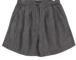 soft shape pintuck short pants