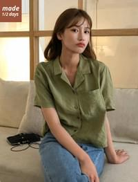 1/2 day blouse #587
