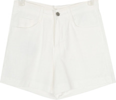 base linen short pants