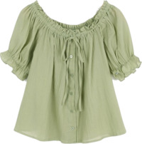 Bonita Shirring Blouse