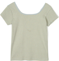 point stripe slim T