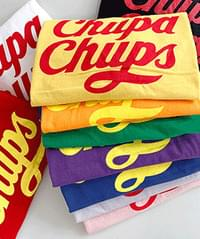 Lettering Candy Short Sleeve Tee