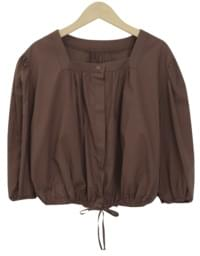 Juliet puff string blouse_J