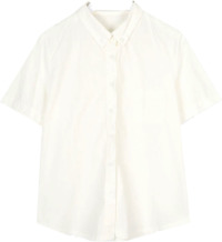 boy basic short cotton shirts