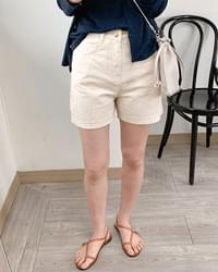 3.5 basic cotton pants