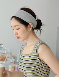 Span cotton hair band_Y
