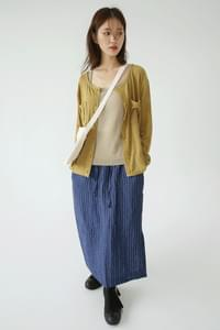 kitch round sheer cardigan (2colors)