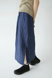 easy wear linen midi skirts (3colors)