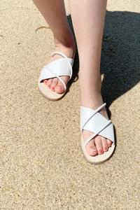 Lux slipper sandals