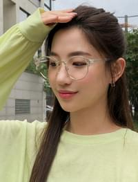 trendy glossy glasses
