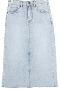 basic royal denim skirt (s, m, l)