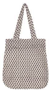 CRON COLOR MIX NEEDLE KNIT BAG