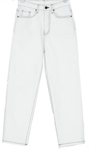 stitches cotton pants