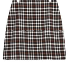 LIKOS CHECK MINI SKIRT