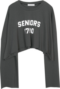 Uni Long Crop Top