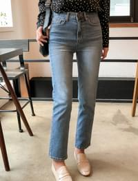 Barn High West Straight Fit Jeans