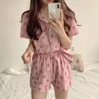 Fruit pajamas set