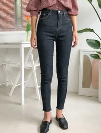 real high-waist skinny jean