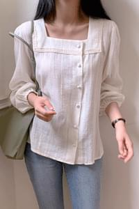 Owned square neck blouse