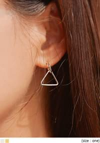 LOXY TRIANGLE DROP EARRING
