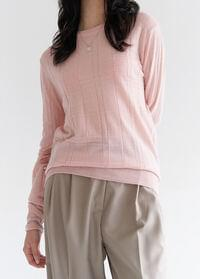 Square point knit