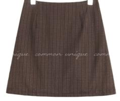 DALE CHECK BANDING PANTS SKIRT