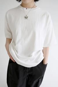solid cotton clean maxi tee