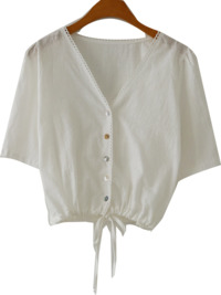String Mini Blouse