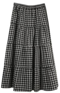 Guaranteed material quality :) Tamtam check skirt