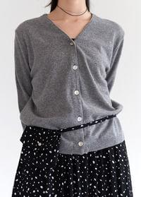 Mother of pearl button cardigan