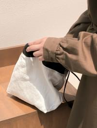 daily point linen bag