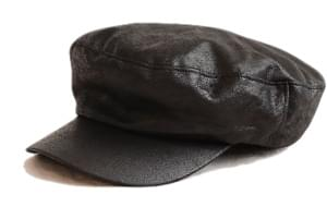 WAYNE LEATHER HUNTING CAP 帽子