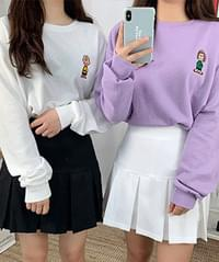 Cartoon friends sweat shirt