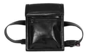 Leather two-way bag