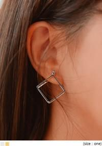 TWIN RHOMBUS EARRING