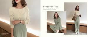 Boat Neck Soft Modality