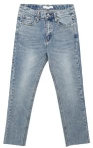 Muse-cut denim pants