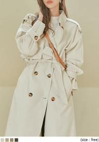 BOSTON DOUBLE TRENCH COAT