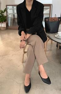 Easy Wide Pin Tuck Pants