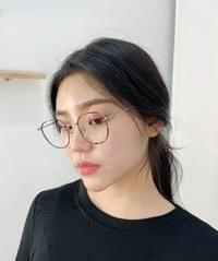 Black and Dongle Glasses