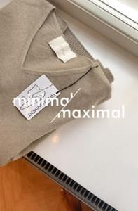 MMMM / Fine Wool Cashmere Clothing Knit
