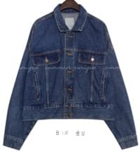 CADDO BOXY DENIM JACKET